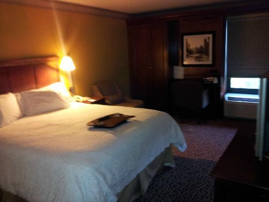 Hampton Inn Boston/Marlborough : Einzelzimmer mit King Bett