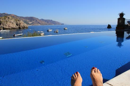 Belmond Villa Sant'Andrea: Feet shot.. we do this at every hotel
