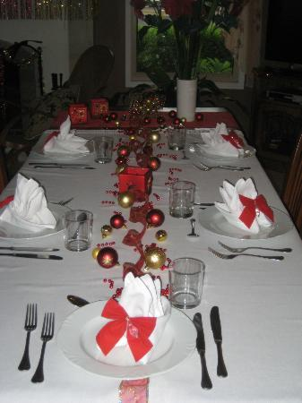 Villa Cavour Bed and Breakfast: Christmas evening