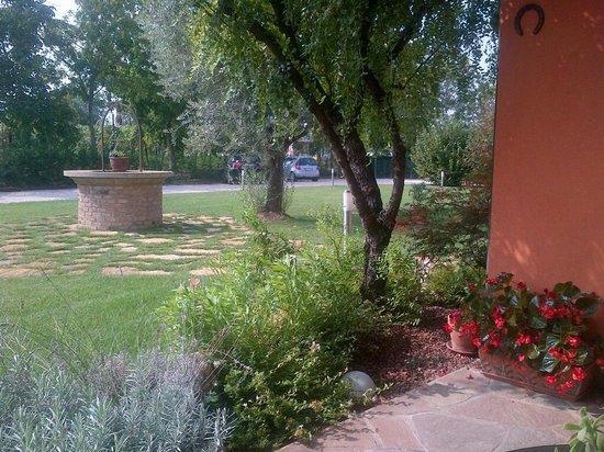 Ca' Borgo delle Rane: il giardino