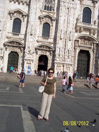 IH Hotels Milano Ambasciatori: Milan Dome, right near the Hotel Ambasciatori