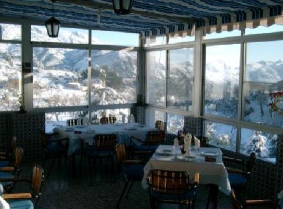 Pension  El Pirineo: COMEDOR TERRAZA