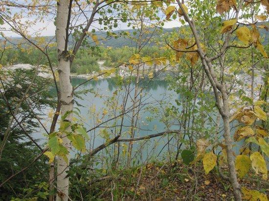 East Barre, Βερμόντ: Across an abandonned quarry