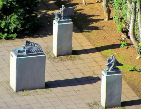 Guesthouse Galtafell: Einar Jónsson Sculpture Garden