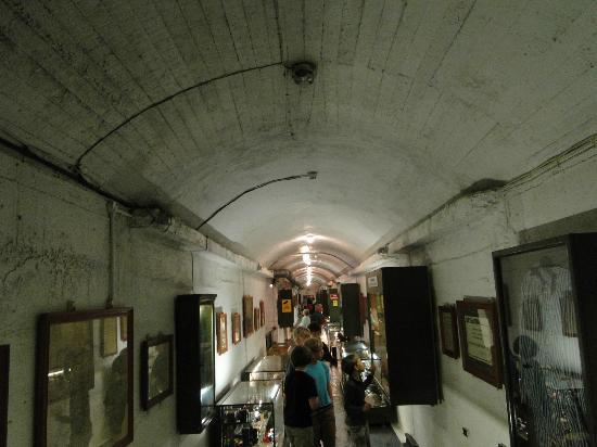 La Vallette Underground Military Museum: В зале музея