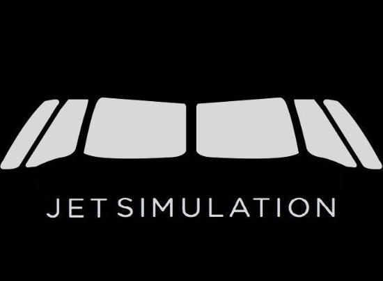 Jet Simulation LTD: Black Logo