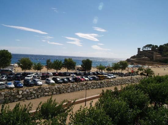 Hotel Rovira: Vue du balcon