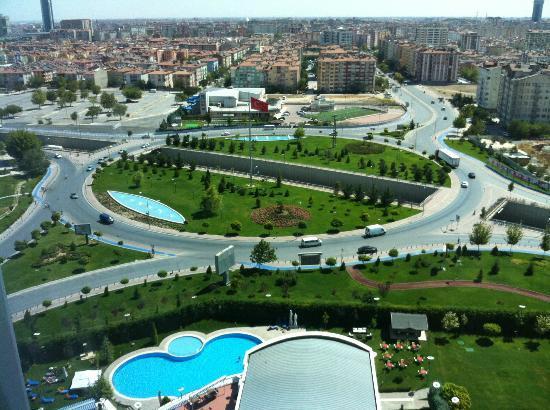 ديديمان كونيا هوتل آند كونفينشين سنتر: 13.kattan Konya manzarası 