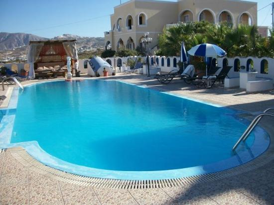 Pension Livadaros: bellissima piscina