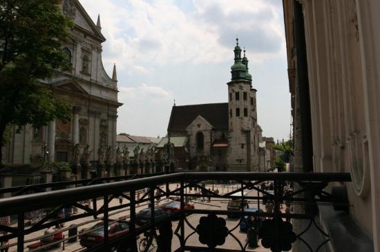 Senacki Hotel: Hotel Balcony