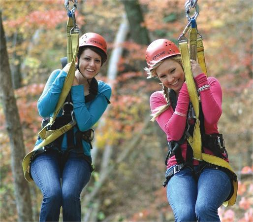 ACE Adventure Resort: Zip Line Canopy Tours
