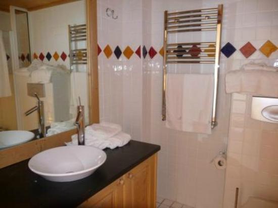 L'Oree des Cimes: Salle de bain