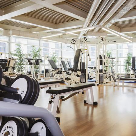 Movenpick Hotel Lausanne: Health Club