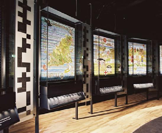 The Guernsey Tapestry: inside the gallery