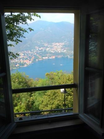 Ristorante Hotel Falchetto: the view from our bedroom