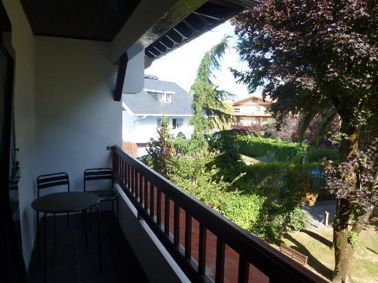 Villa Lorenea: view from our balcony