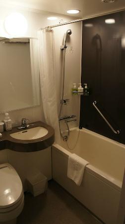 Hotel Ryumeikan Tokyo: Shower