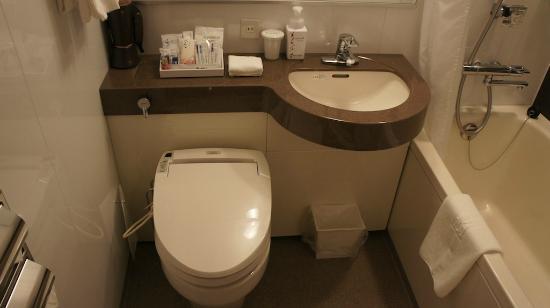 โฮเต็ล Ryumeikan โตเกียว: Clean bathroom