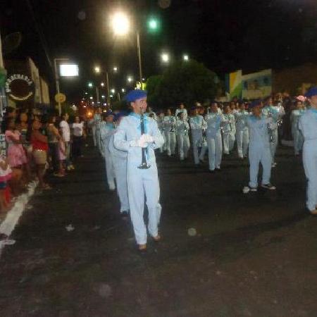 07 de setembro de 2012 em Iguatu aconteceu a primeira apresentação da Banda Fanfarra