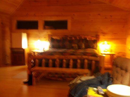 Chilhowee Mountain Retreat: King Bed
