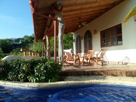 Pelican Eyes Resort & Spa: Our lovely terrace at Casa Ruso