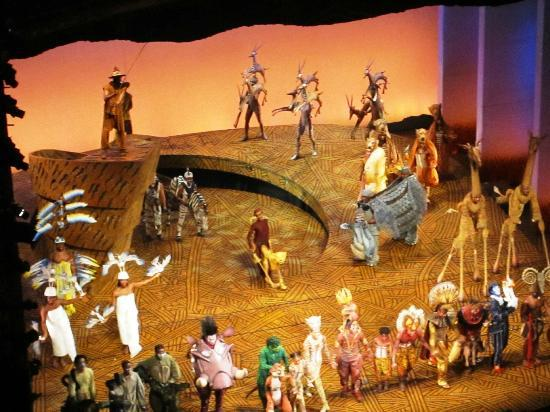 Lyceum Theatre - Picture of The Lion King, London
