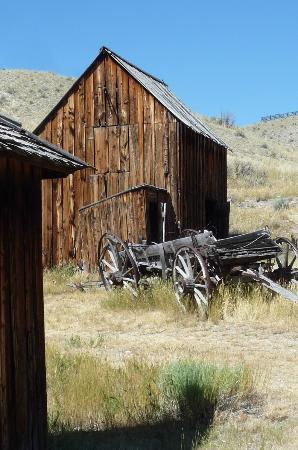 Bannack State Park: Out of business ...