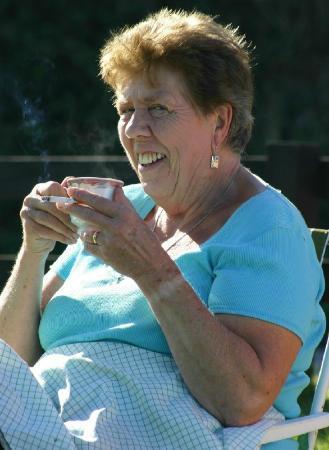 Margaret's Rustic Tea Garden: Margaret (Herself)