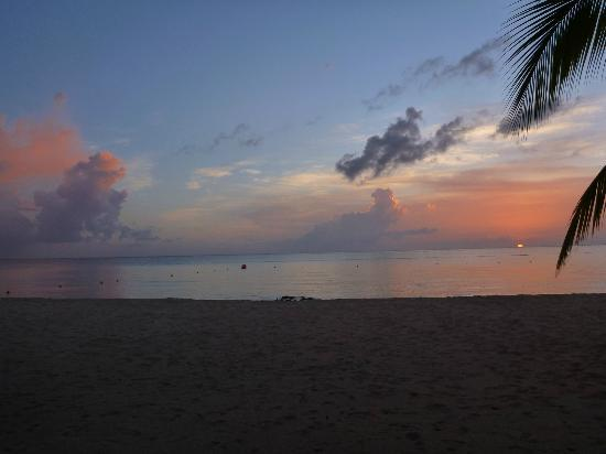 Residencias Reef Condos: Sunset on the beach