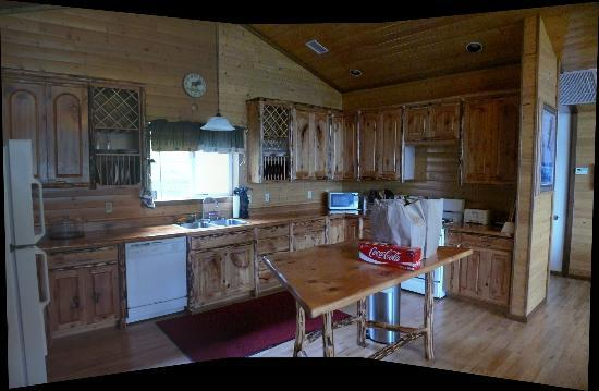 Haines Bear Lodge: Kitchen facilities
