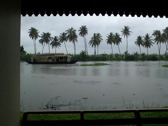 Manor Backwater Resort: view from room