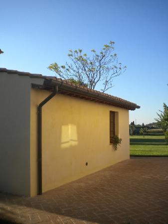 Residenza Porta Guelfa: l'esterno della casetta