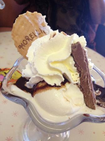 Morelli's: my ice cream...... £5 worth