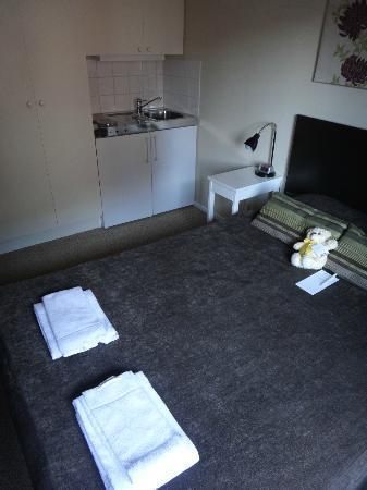 Freys Hotel Lilla Radmannen: Camera da letto