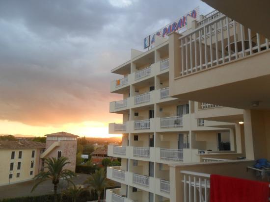 Som Siurell: balcony view