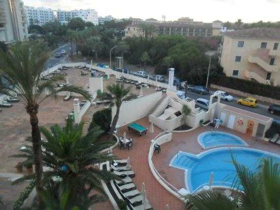Hipotels Aparthotel Paraiso : balcony view