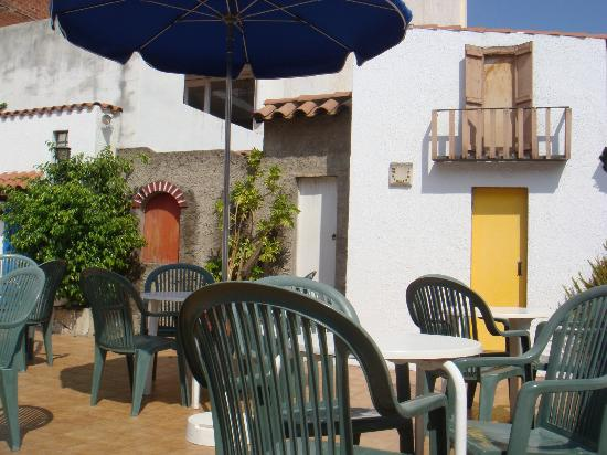 Hotel Mediterrani Express: Terraza