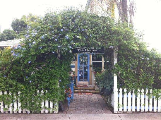 Entrance - Picture of Serenity Garden Tea House & Cafe, West Palm Beach - Tripadvisor