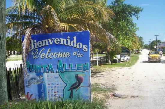 Sian Ka'an Biosphere Reserve: Approaching Punta Allen