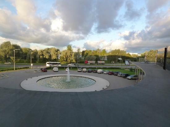 Ulemiste Hotel: View outside