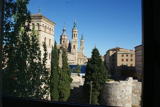NH Ciudad de Zaragoza: Vista desde la habitacion 318