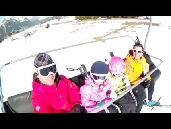 Hotel Roc de Sant Miquel: family skiing