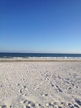 Best Western On The Beach: The Beach is beautiful!!