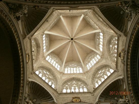 Catedral de Valencia: Particolare della Cupola