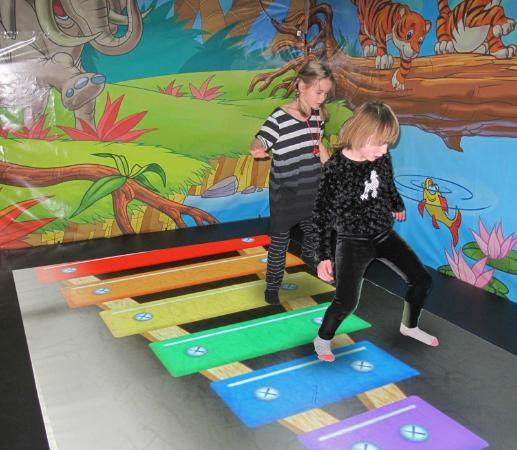 The Great Escape: Interactive floor in the playground, level 2