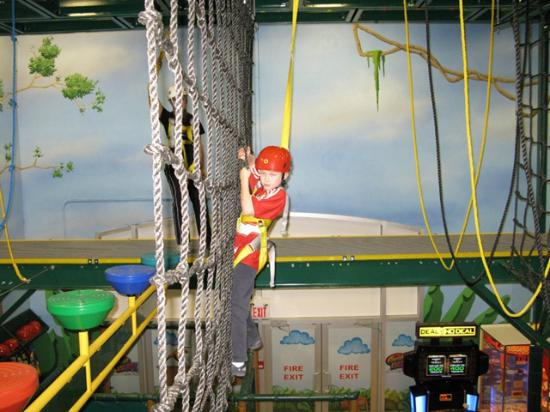The Great Escape: Air Trek Obstacle Adventure