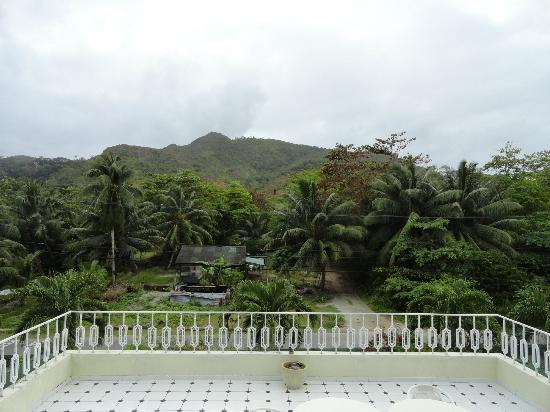 Palm Beach Hotel: mountain side view
