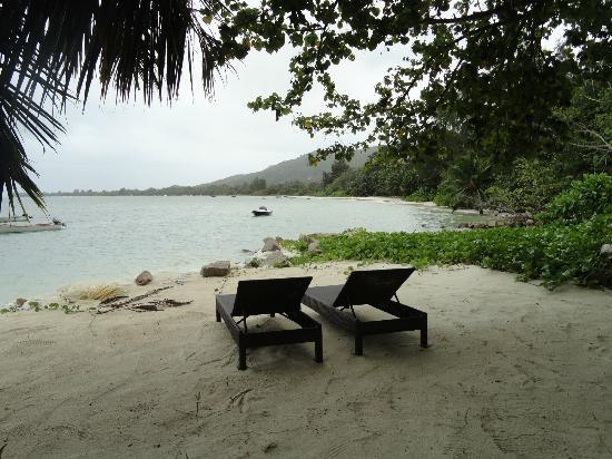 Palm Beach Hotel : beach area