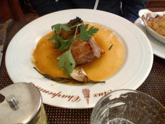 Aux Charpentiers : Meat