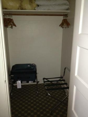 The Oaks at Ojai: big closet in intermediate double room
